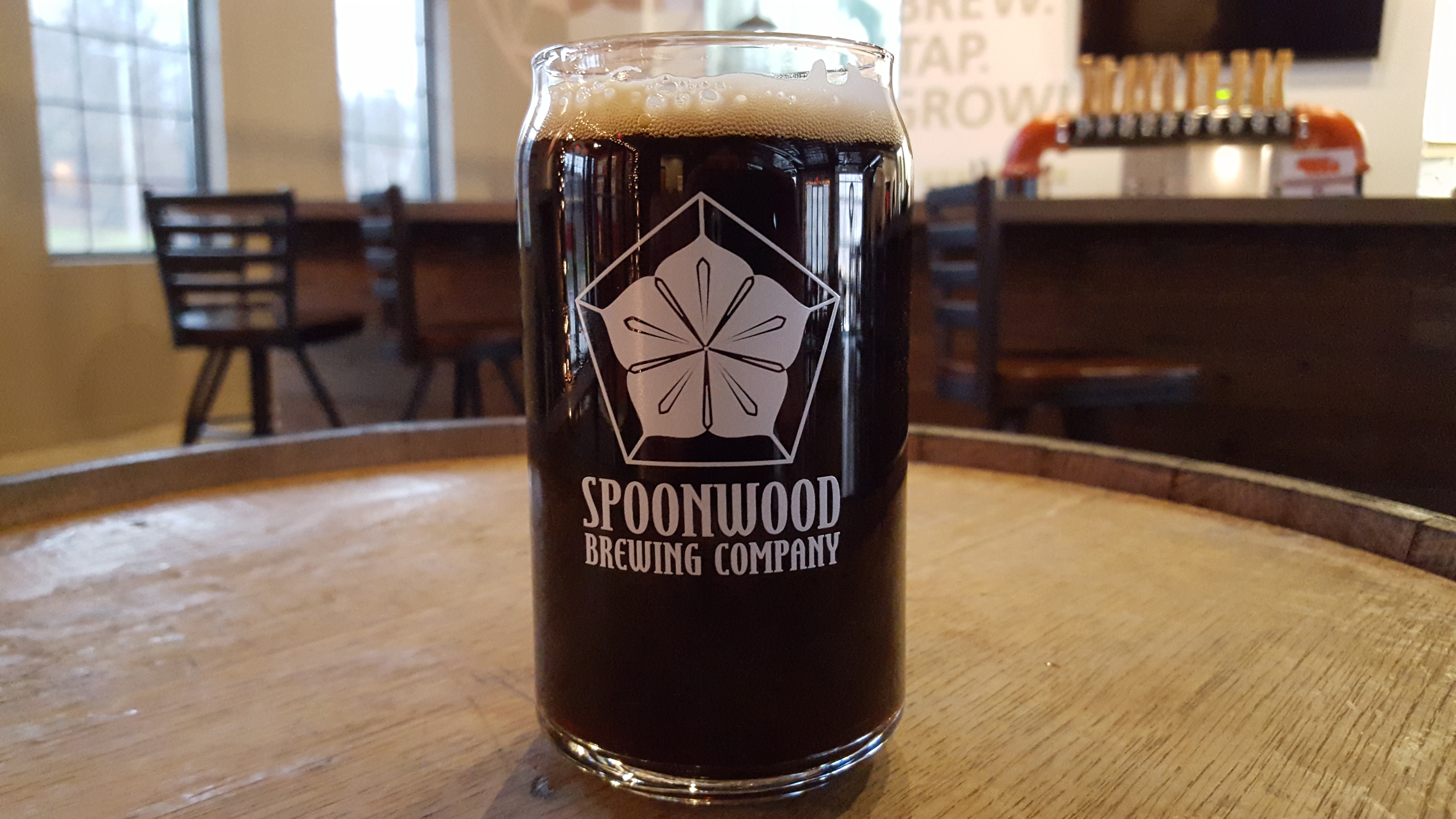 SPOONWOOD BREWING CHOCOLATE STOUT