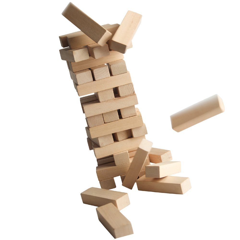 how to build large jenga blocks