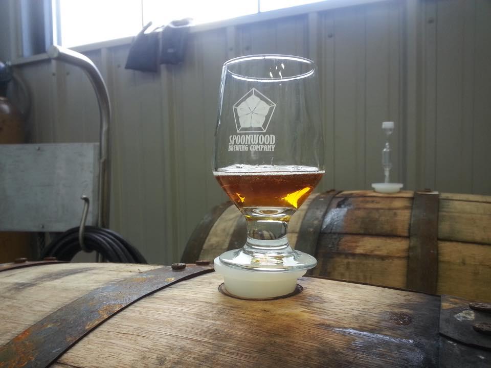 BA Rye IPA Spoonwood Brewing CO