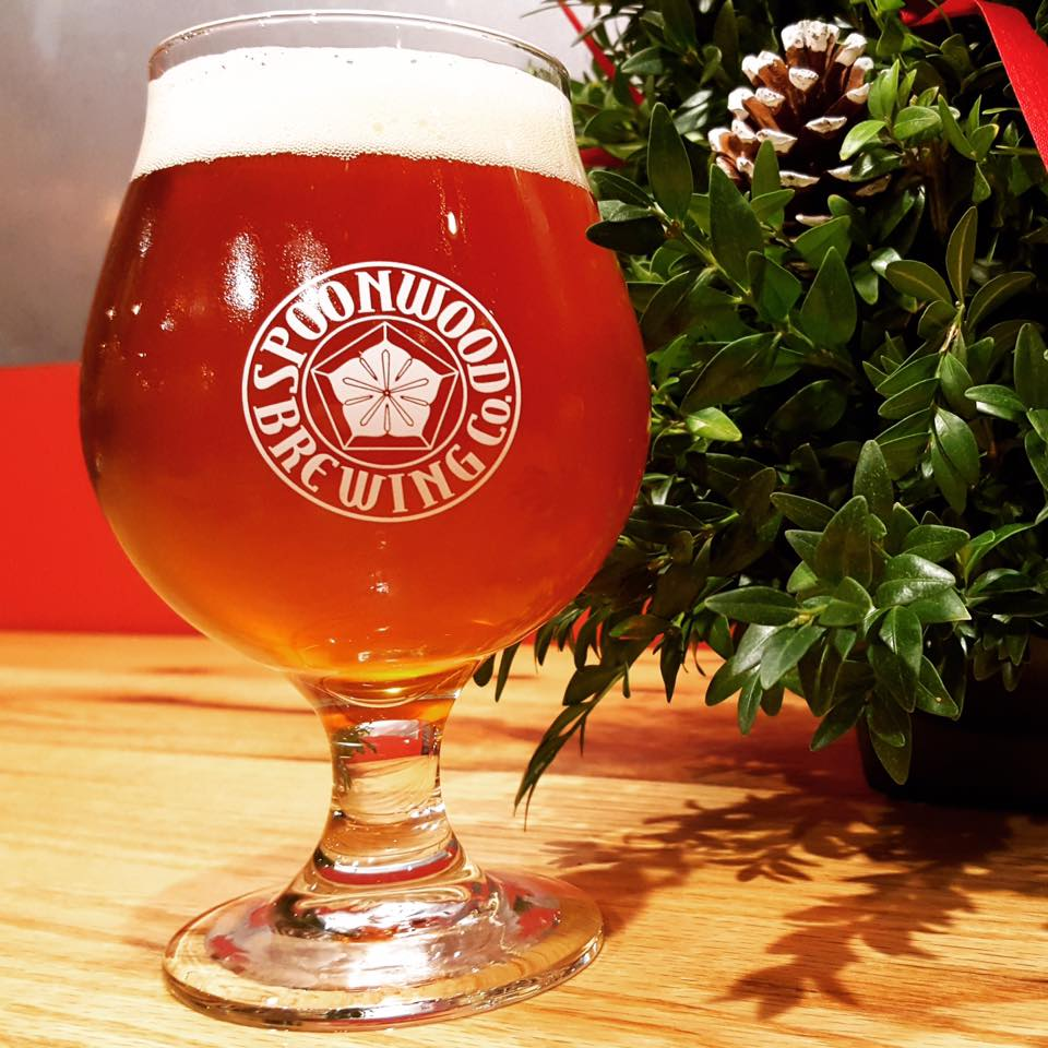 Good Tidings Christmas Belgian Spoonwood Brewing Co