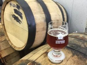 Beers Aging in Whiskey Barrels