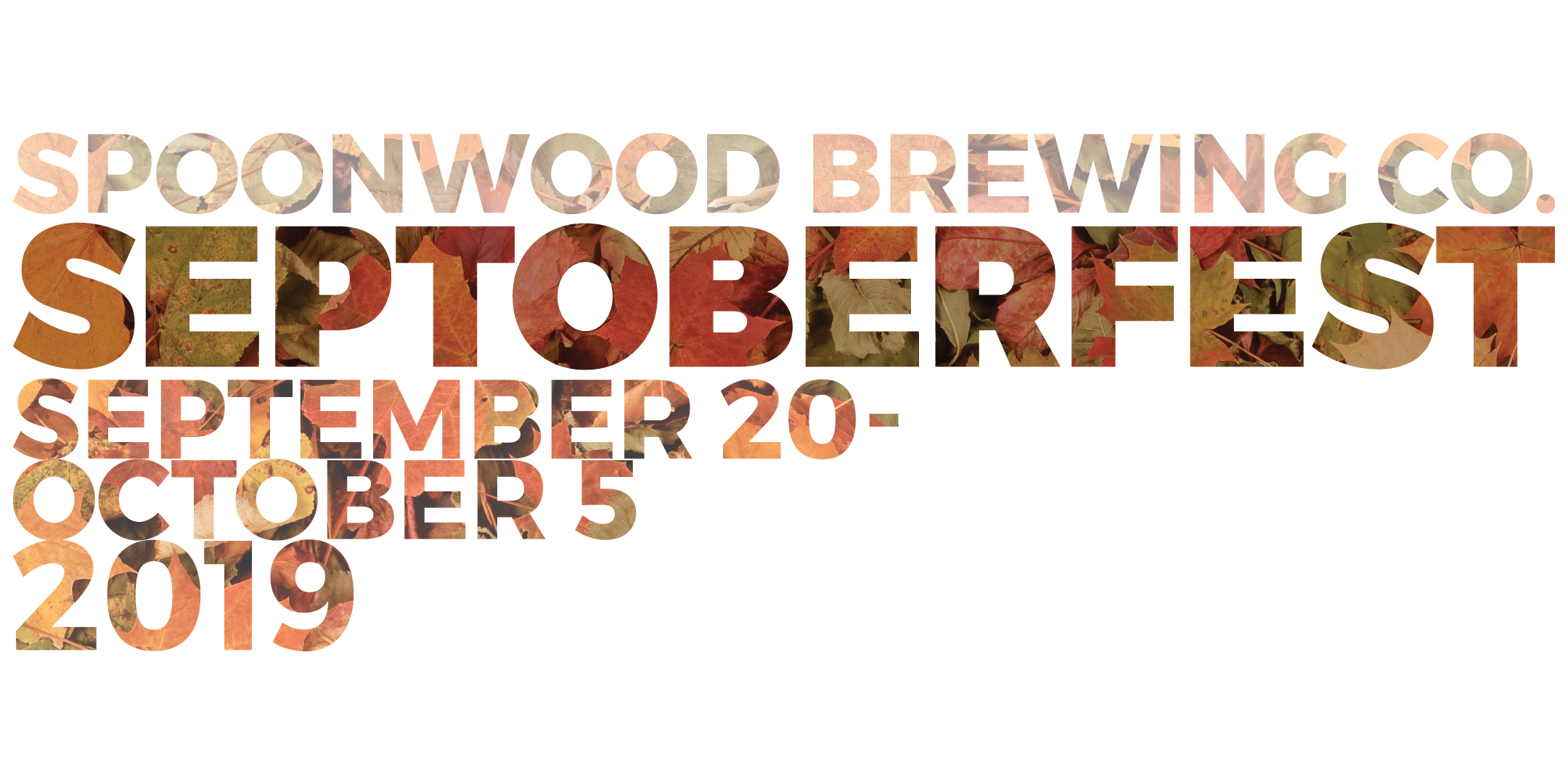 Septoberfest 2019 Event Line-up