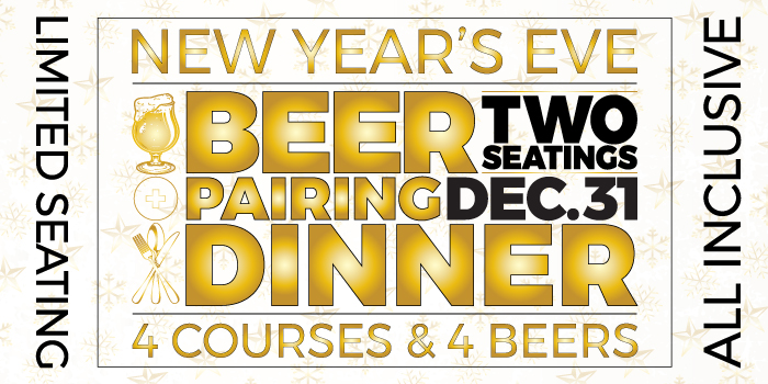 New Year's Eve Beer Pairing Dinner Tickets