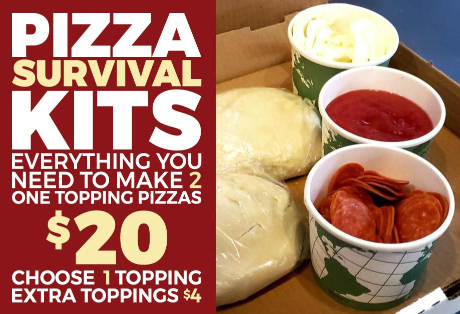 Take Home Pizza Kit Special