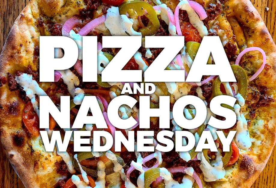 Pizza and Nachos Specials on Facebook