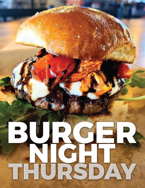 Burger Specials on Facebook